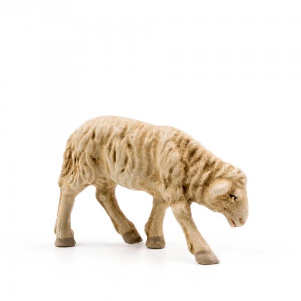 Schaf grasend, zu 9 - 10cm Krippenfiguren - Original MAROLIN® - Krippenfigur für Ihre Weihnachtskrippe - Made in Germany