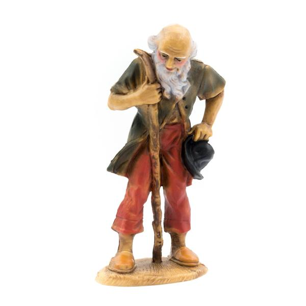 Old shepherd (plastic material), to 4.75 in. Figures