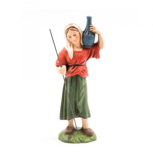 Hirtin mit Krug, zu 11cm Krippenfiguren - Original MAROLIN® - Krippenfigur für Ihre Weihnachtskrippe - Made in Germany