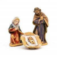 Heilige Familie, 3-teil. Set, zu 7cm Fig. (Kunststoff)