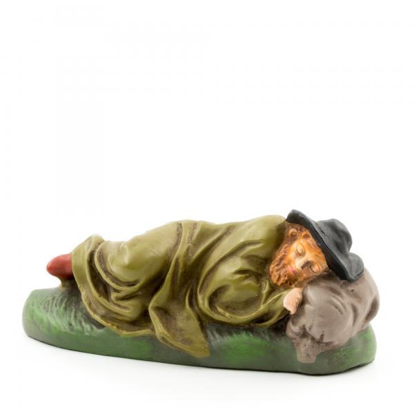 Hirte schlafend mit Decke, zu 9cm Figuren