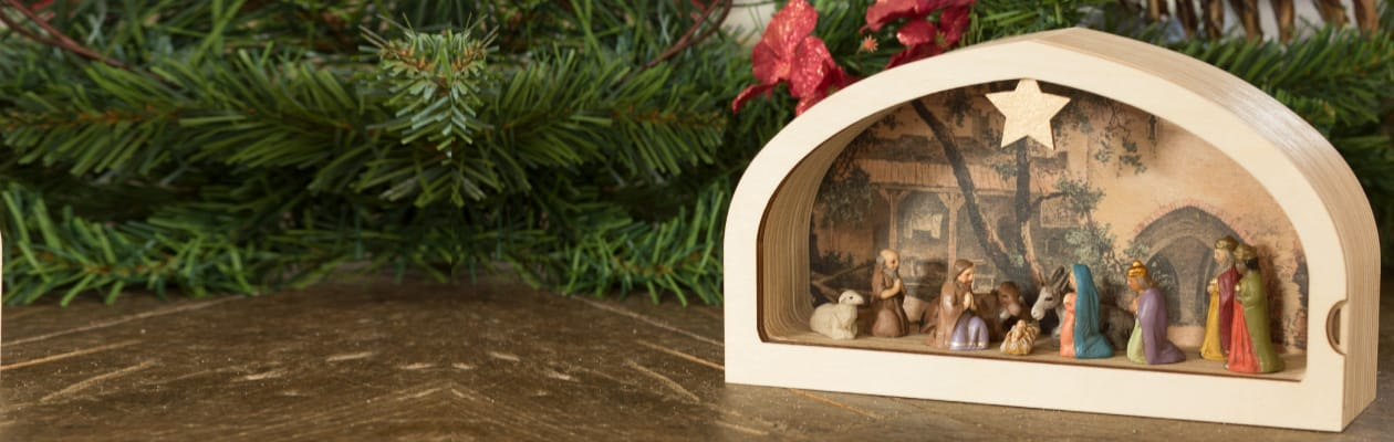 Nativity figures of the 1.5 inch size