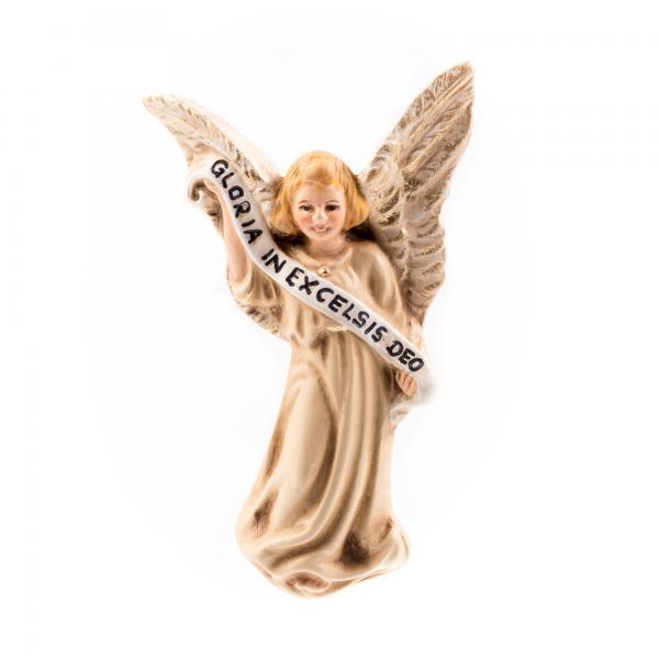 Gloria-Engel schwebend (créme) zu 8 - 10cm Krippenfiguren - Original MAROLIN® - Engel für Ihre Weihnachtskrippe - Made in Germany