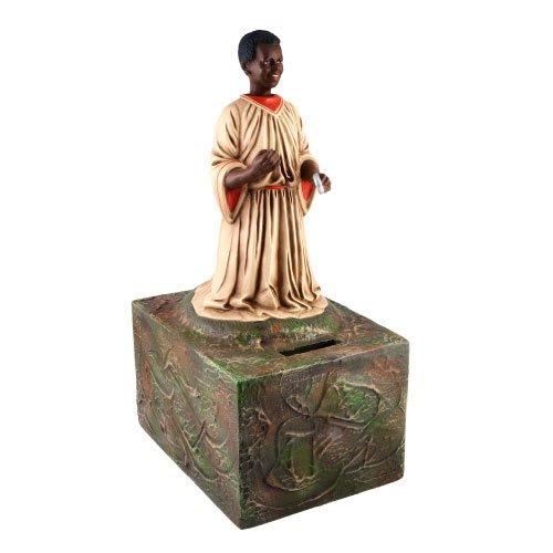"""Große Missionssammelbüchse """"Afrika"""" (antikweiß) - ein Artikel aus der Serie MAROLIN® -  Sammlerstücke. Made in Germany."""