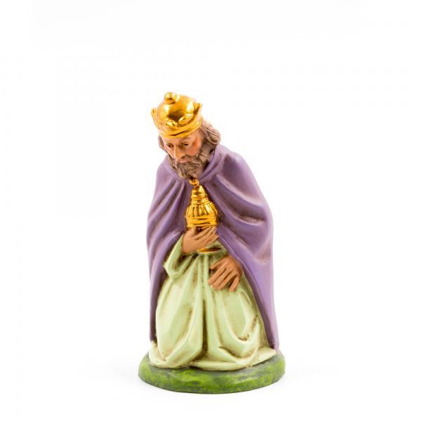 König braun (Melchior) kniend, zu 11cm Figuren