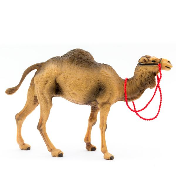 Kamel stehend, zu 12cm Fig. (Kunststoff)