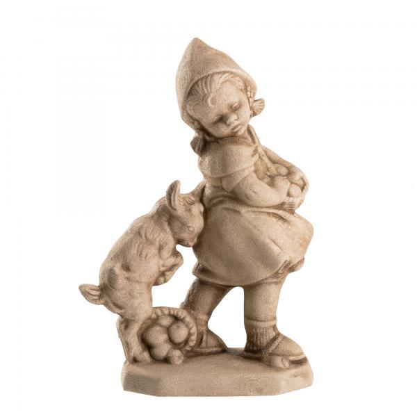 Liesl mit Zicklein - Sandsteinoptik