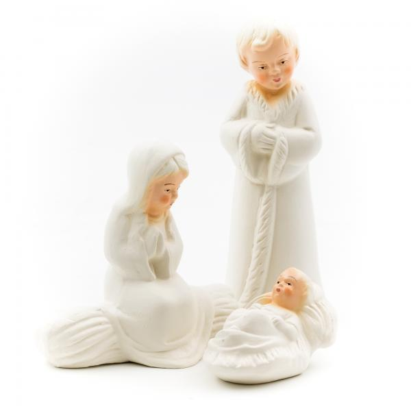 Bastelset Kinderkrippe - Heilige Familie