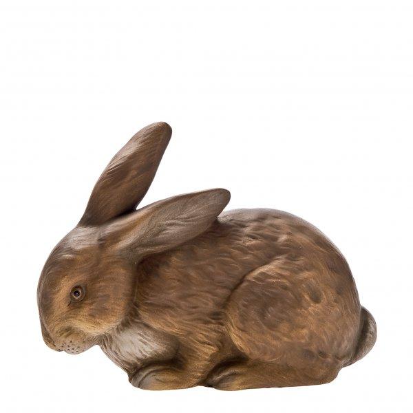 Kuschelhase, braun, H=10cm
