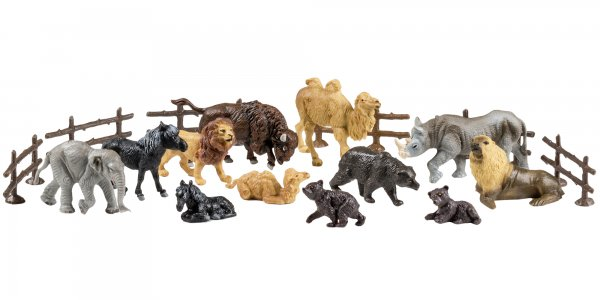 "Spielfiguren Set ""Zoo 2"""
