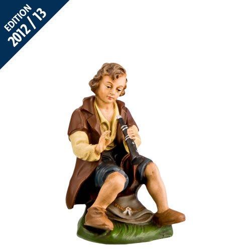 Hirte mit Flöte (sitzend), zu 17cm Figuren
