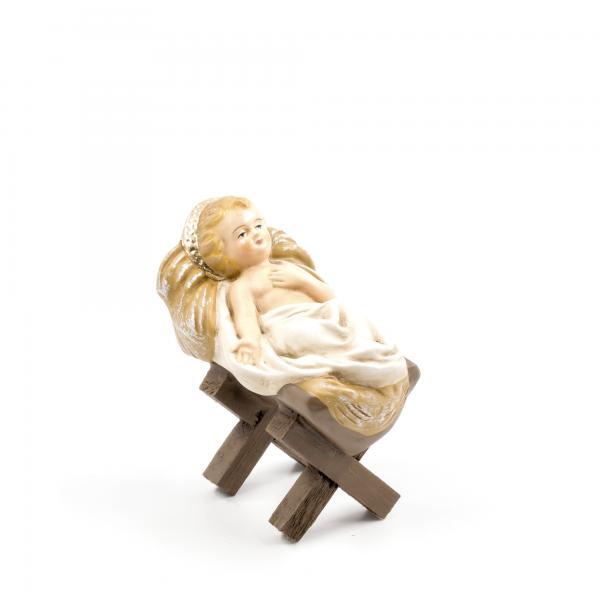 Krippenlager mit Jesuskind, zu 21cm Figuren