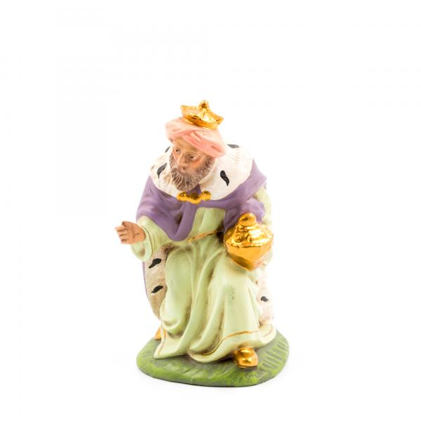 König braun (Melchior) kniend, zu 12cm Figuren