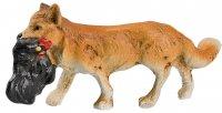 Fuchs mit Huhn, zu 9 - 10cm Figuren passend