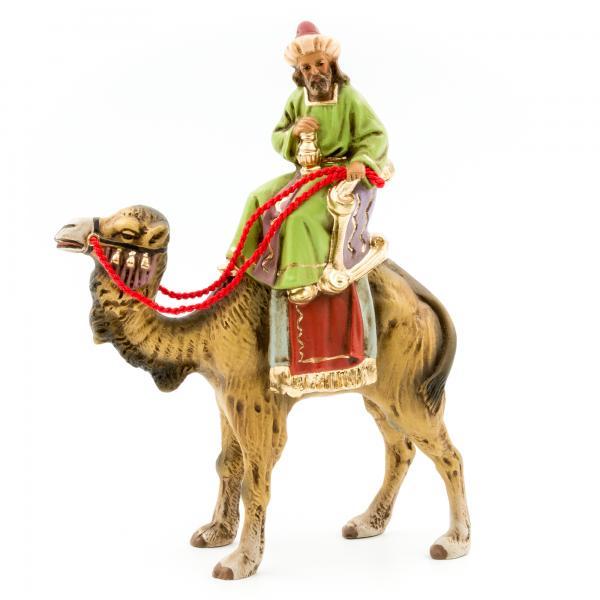 König braun (Melchior) zu Kamel, zu 9cm Figuren