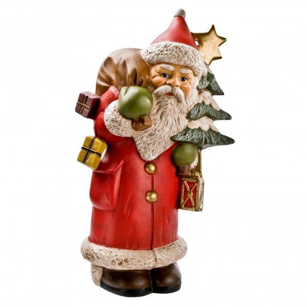 Weihnachtsmann mit Baum und Stern