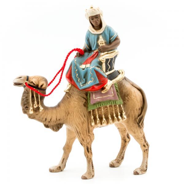 König schwarz (Caspar) zu Kamel, zu 9cm Figuren