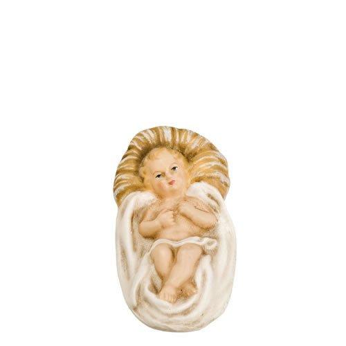 Krippenlager mit Jesuskind, zu 14cm Figuren