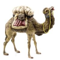 Camel with luggage, to 8.5 in. figures