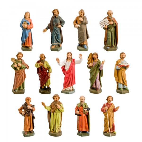 Jesus und seine Jünger, 13 Figuren, zu 11cm Figuren