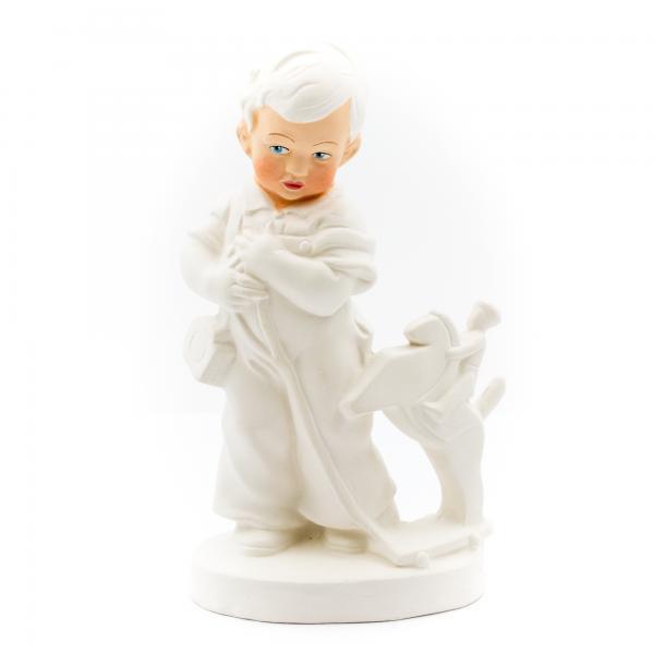 Fritzchen mit Reiterlein - Figur zum Anmalen