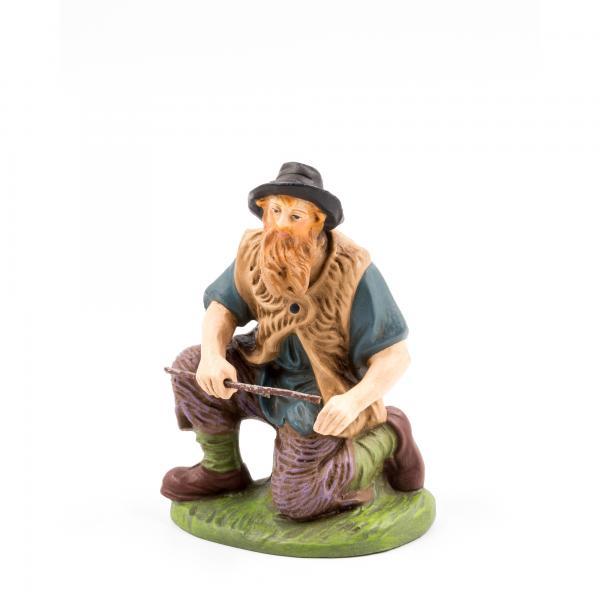 Hirte kniend mit Holz, zu 12cm Figuren