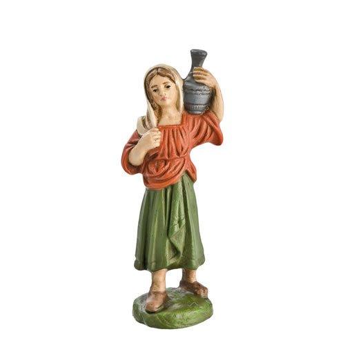 Hirtin mit Krug, zu 10cm Krippenfiguren - Original MAROLIN® - Krippenfigur für Ihre Weihnachtskrippe - Made in Germany