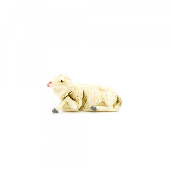 Schaf liegend, zu 7cm Fig. (Kunststoff)