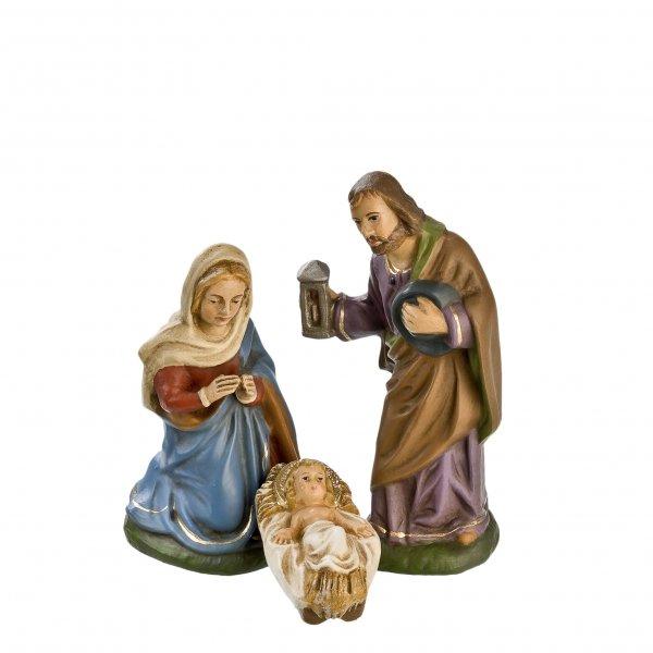 Heilige Familie, 3 Teile, zu 10cm Figuren