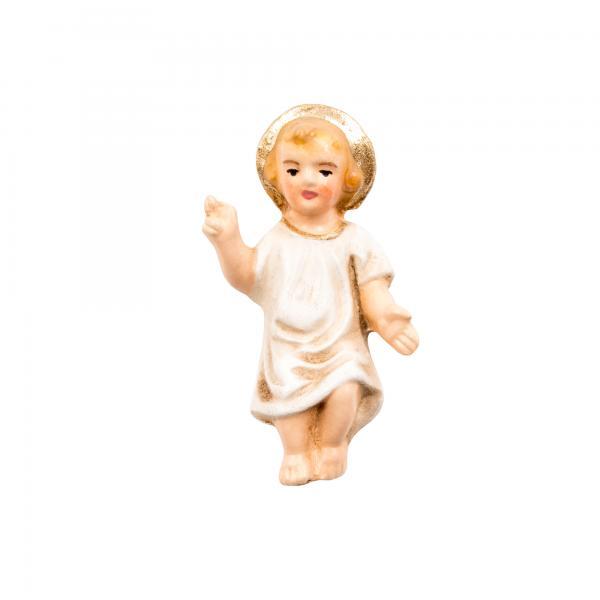 Jesuskind mit Hemd, zu 10 - 11cm Krippenfiguren - Original MAROLIN® - Krippenfigur für Ihre Weihnachtskrippe - Made in Germany