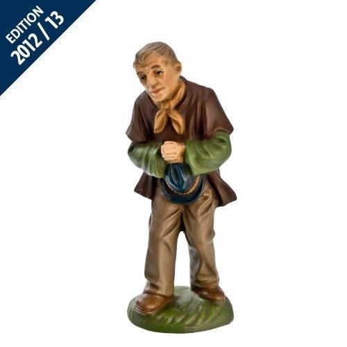 Hirte im Gebet, zu 11cm Krippenfiguren - Original MAROLIN® - Krippenfigur für Ihre Weihnachtskrippe - Made in Germany
