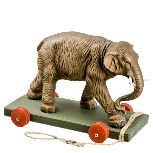 """Ziehtier """"Großer Elefant"""" - ein Artikel aus der Serie MAROLIN® -  Sammlerstücke. Made in Germany."""