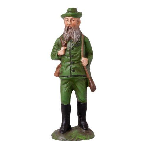 Oberförster, zu 10cm Figuren - Original MAROLIN® - Figur für Ihre Weihnachtspyramide oder Weihnachtskrippe  - Made in Germany