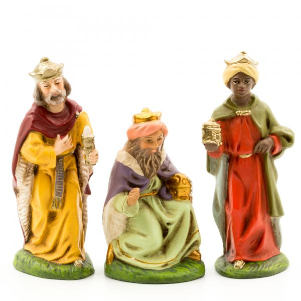 Heilige Drei Könige (mit Ansatzteilen), zu 9cm Figuren
