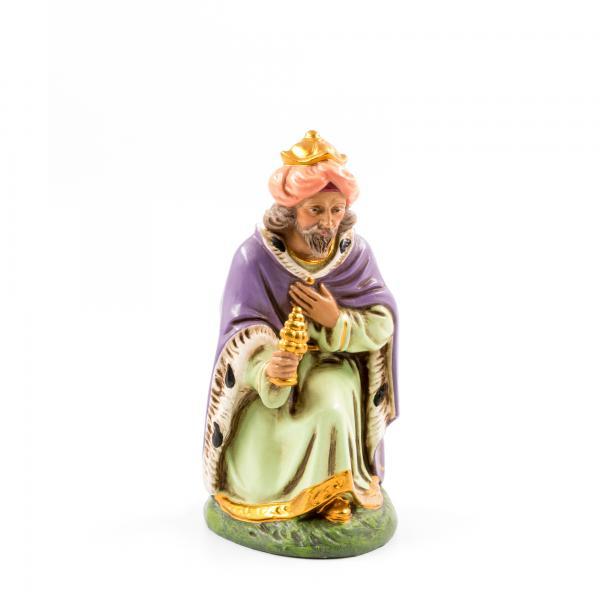 König braun (Melchior) kniend, zu 17cm Figuren