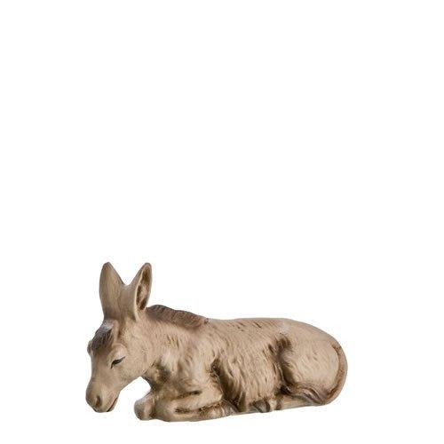 Esel liegend, zu 9 - 10cm Figuren