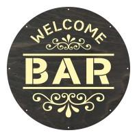 """Motivscheibe """"Bar"""""""
