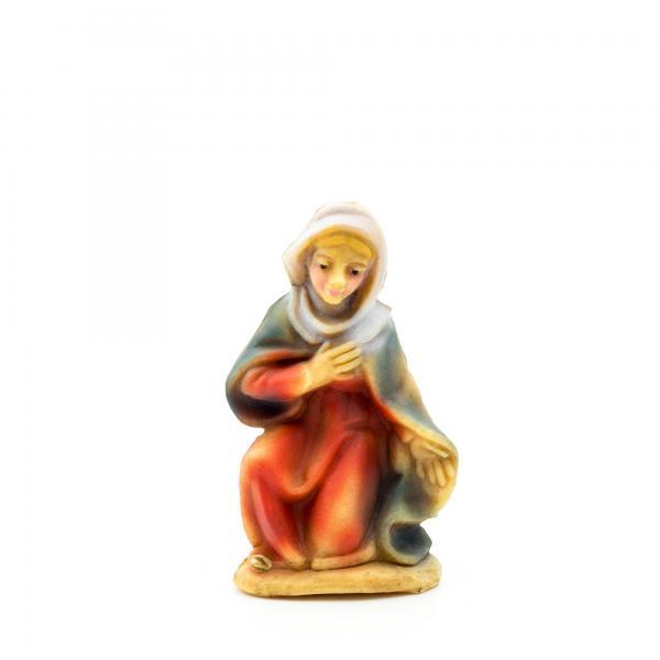 Maria kniend, zu 7cm Fig. (Kunststoff)