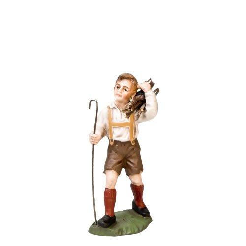Junge mit Holzbündel, zu 12cm Figuren