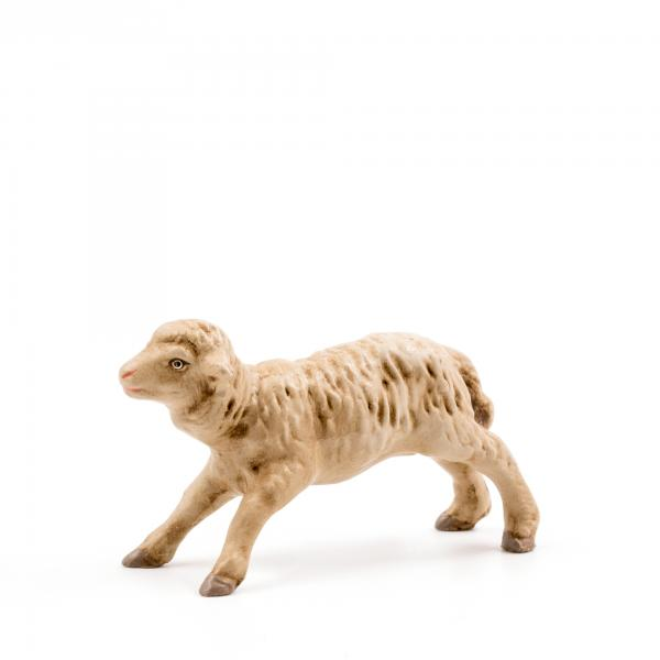 Springendes Schaf, zu 9 - 10cm Krippenfiguren - Original MAROLIN® - Krippenfigur für Ihre Weihnachtskrippe - Made in Germany