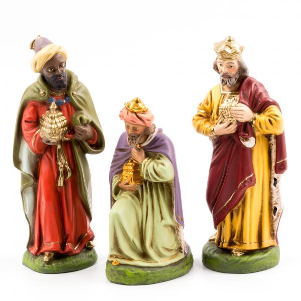 Heilige Drei Könige, zu 14cm Figuren