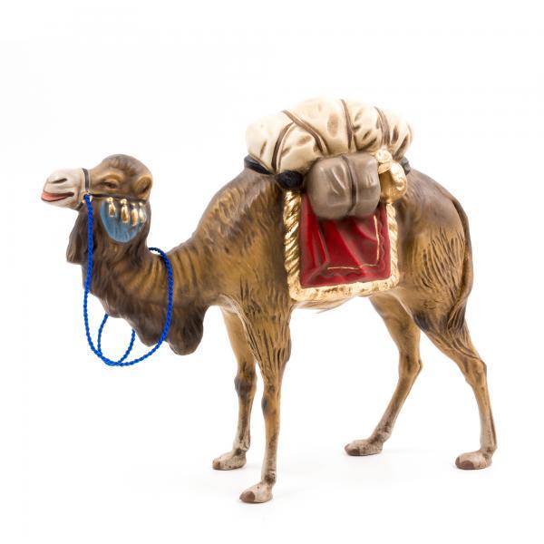 Kamel mit Gepäck, zu 12 - 14cm Figuren