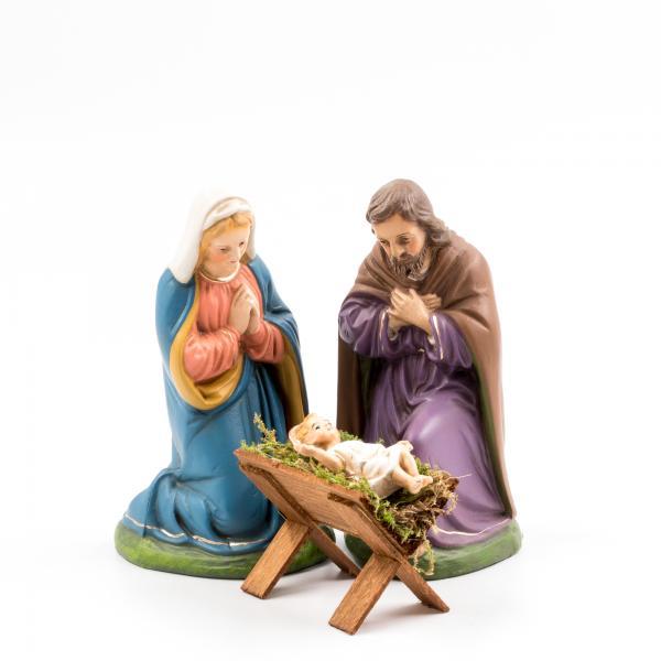 Heilige Familie, 3 Teile, zu 14cm Figuren