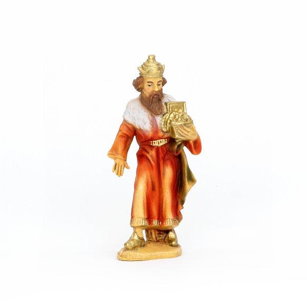 König weiß (stehend), zu 9cm Fig. (Kunststoff)