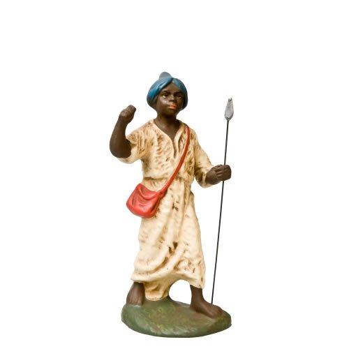 Kameltreiber mit Fellkleid (schwarzes Gesicht), zu 14cm Figuren