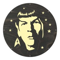 "Motivscheibe ""Spock"" | Marolight"
