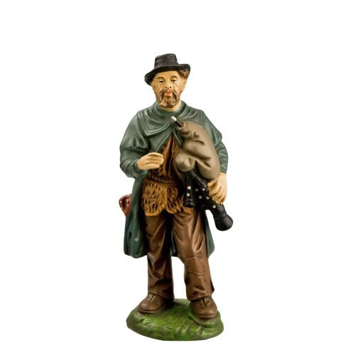 Hirte alt mit Dudelsack, zu 14cm Figuren