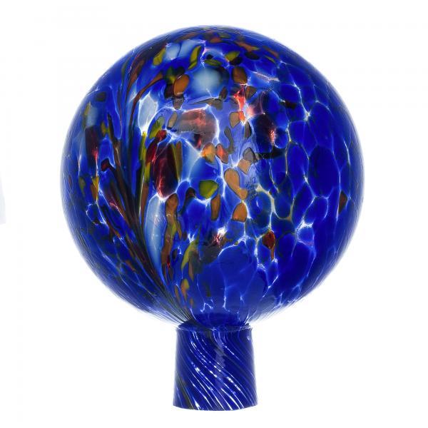 Rosenkugel für den Garten/Gartenkugel (15cm Durchmesser | blau)