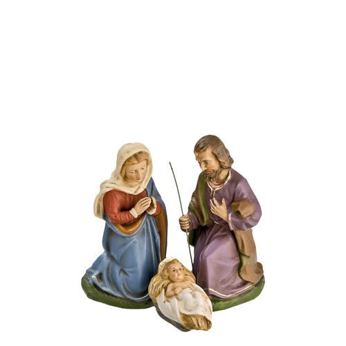 Heilige Familie, 3 Teile, zu 12cm Figuren