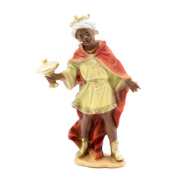 König schwarz, stehend, zu 12cm Fig. (Kunststoff)